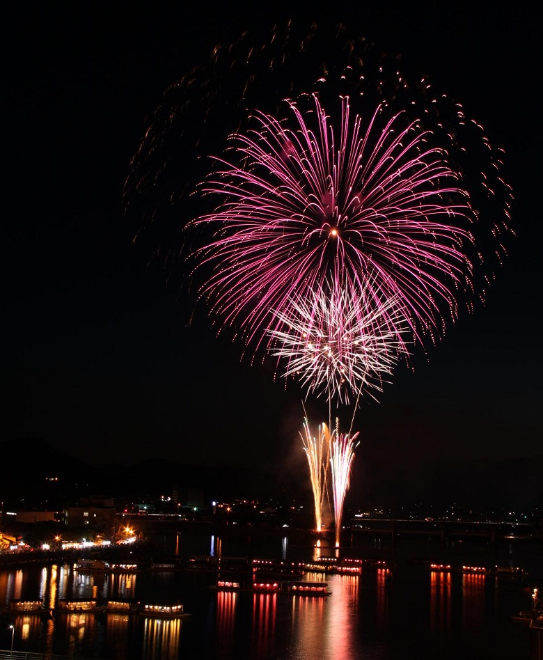 約1万発の花火に多彩なイベント…毎年20万人を動員する日田川開き観光祭が今週末開催されるぞ