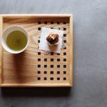 「煎茶」500円(お茶菓子付き)
