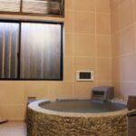 お座敷付きの貸切り湯は、和の空間でのんびりと過ごせるよ