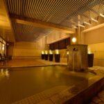 大浴場には内湯だけでなく、露天風呂やサウナも完備